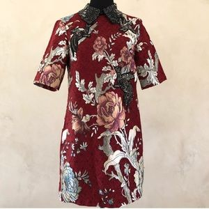 Zara Woman Embellished Dress